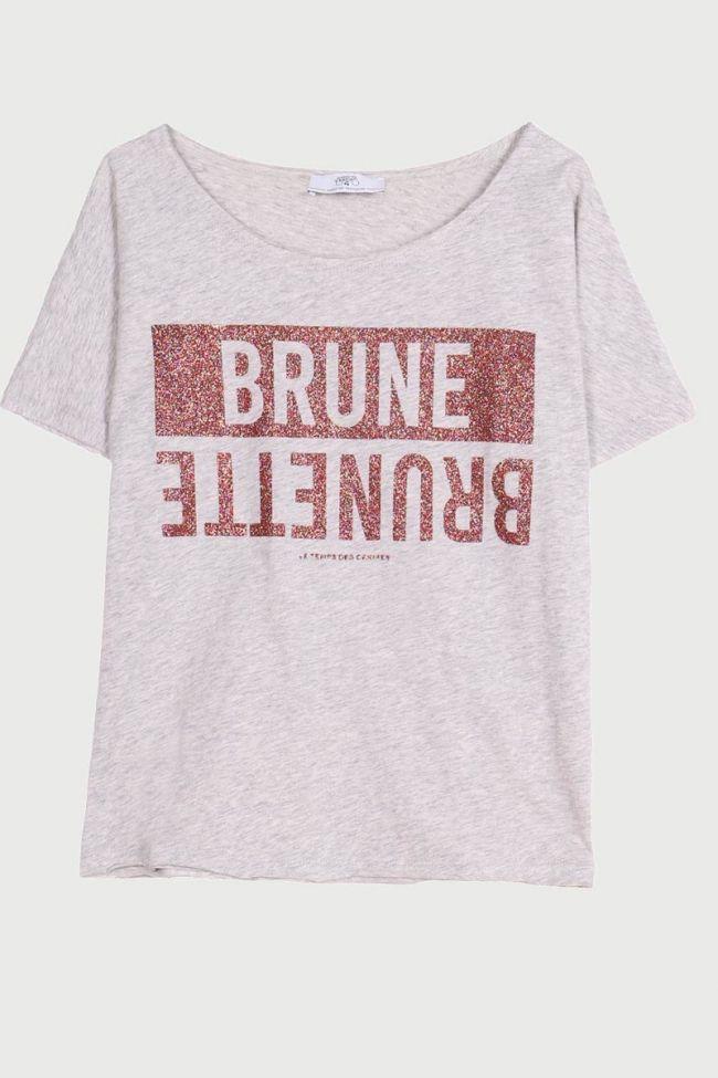 Blunegi ash grey t-shirt