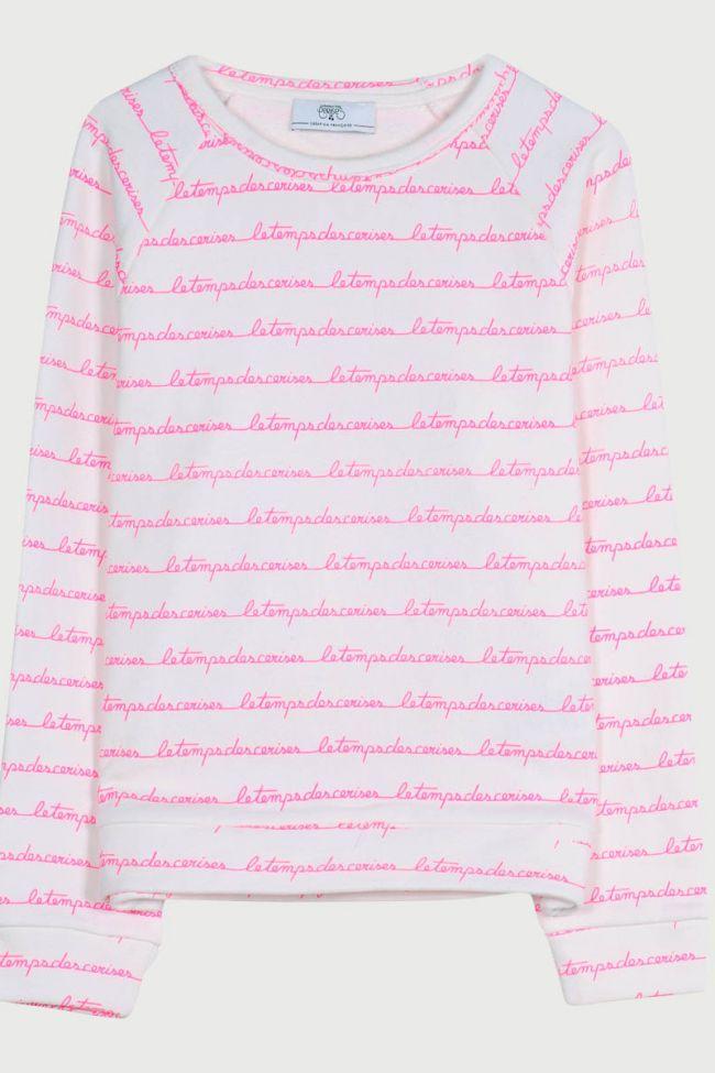Boragi pink sweatshirt