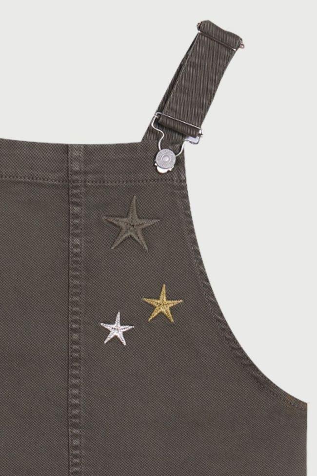 Carla jeans overalls khaki