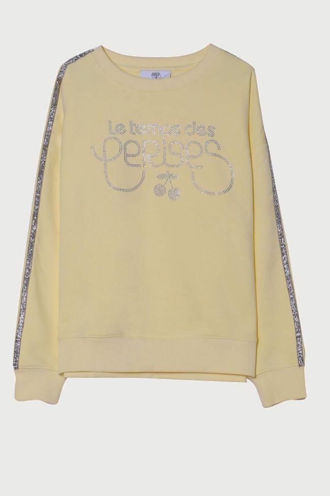 Cristalgi yellow sweatshirt