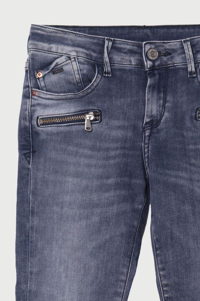 Jeans power skinny 7/8ème Ryder gris N°2