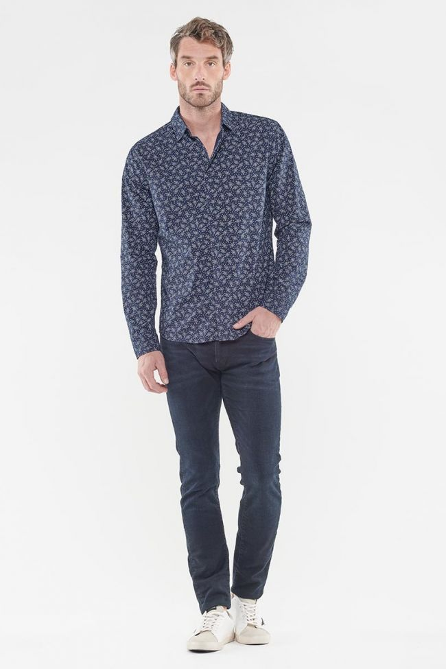 Bary navy blue shirt