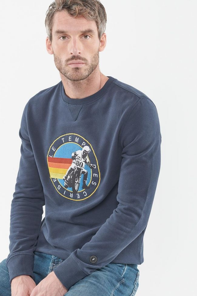 Brody navy blue sweatshirt