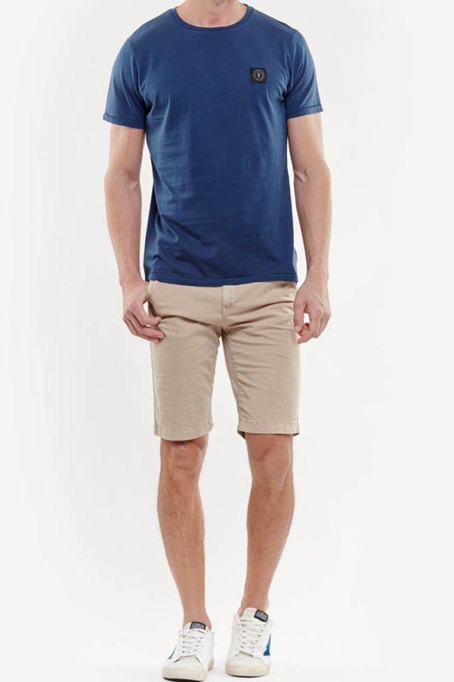 T-Shirt Brown bleu