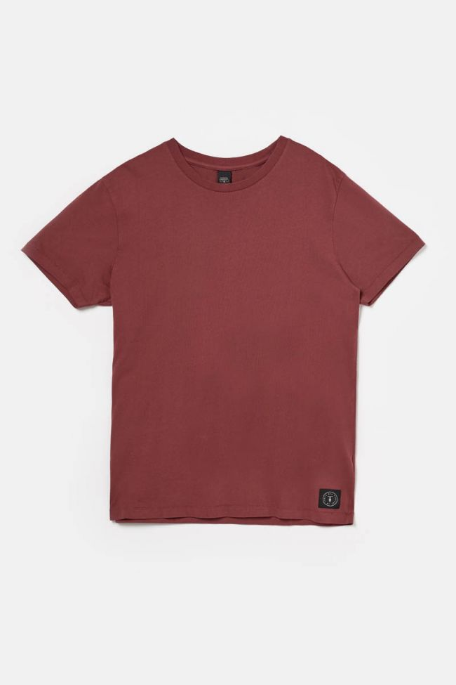 T-shirt Brown rouge