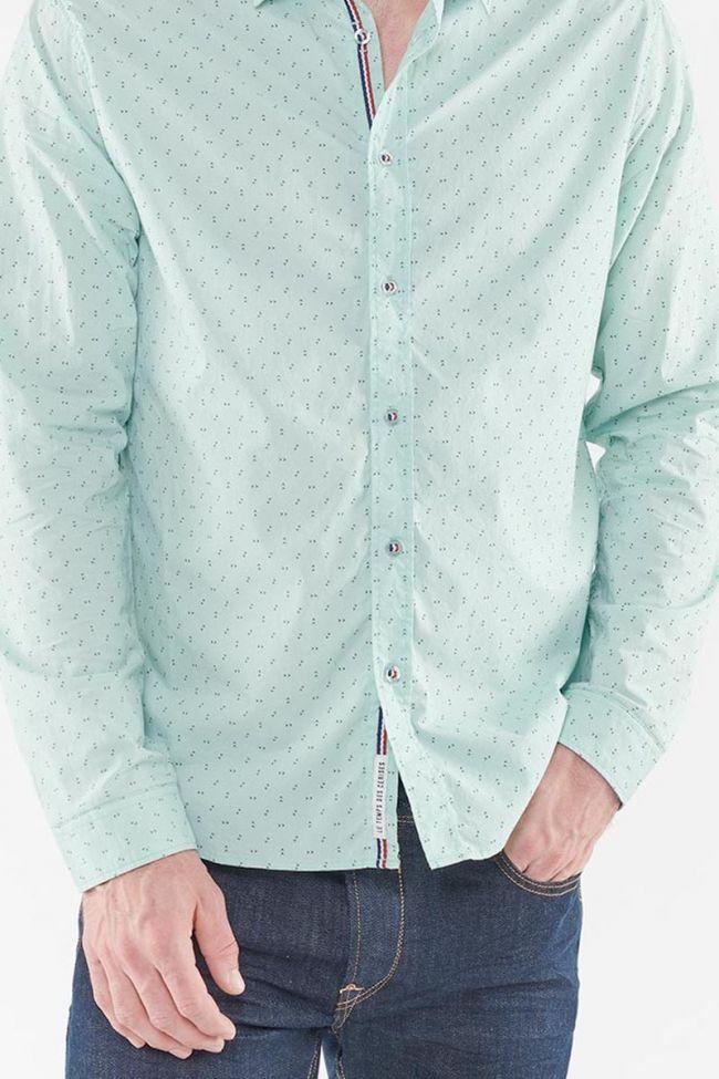 Marlon water green shirt
