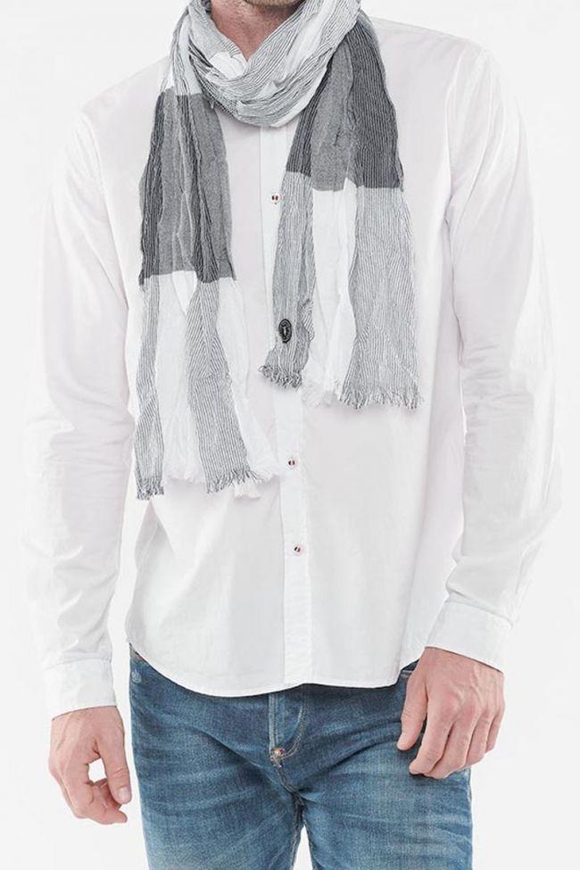 North scarf navy blue