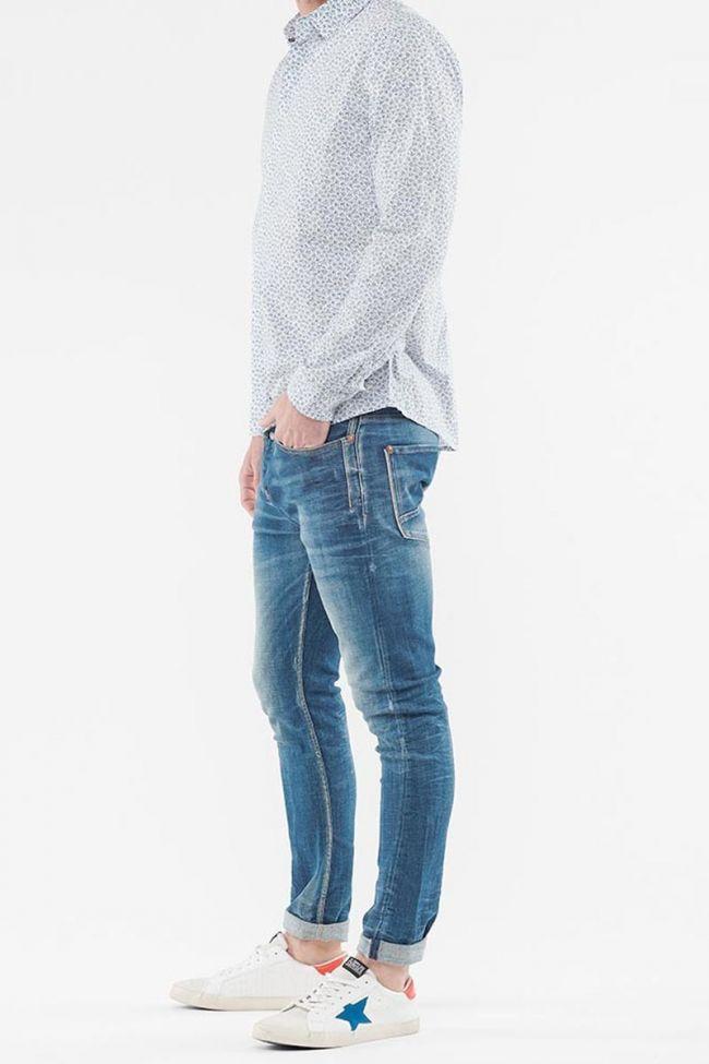 White Peter flowers shirt