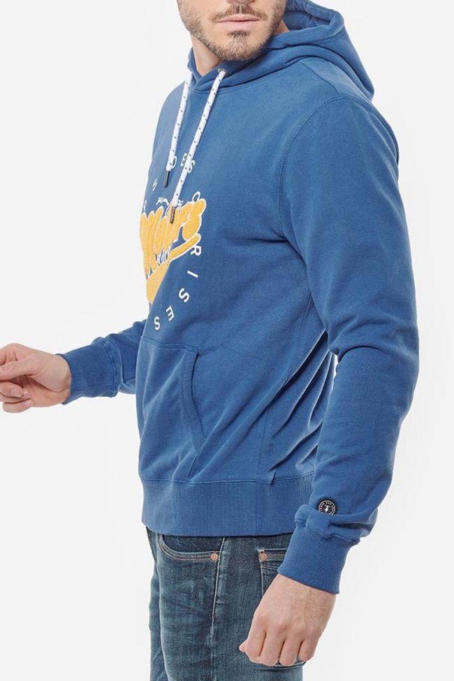 Preiser blue hooded sweatshirt