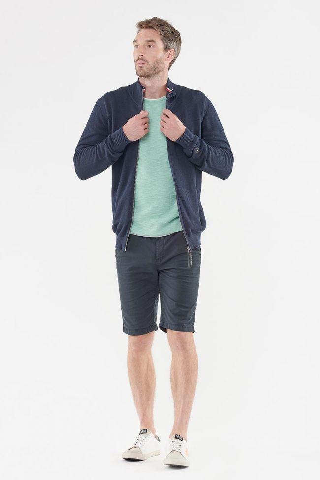 Real navy blue cardigan