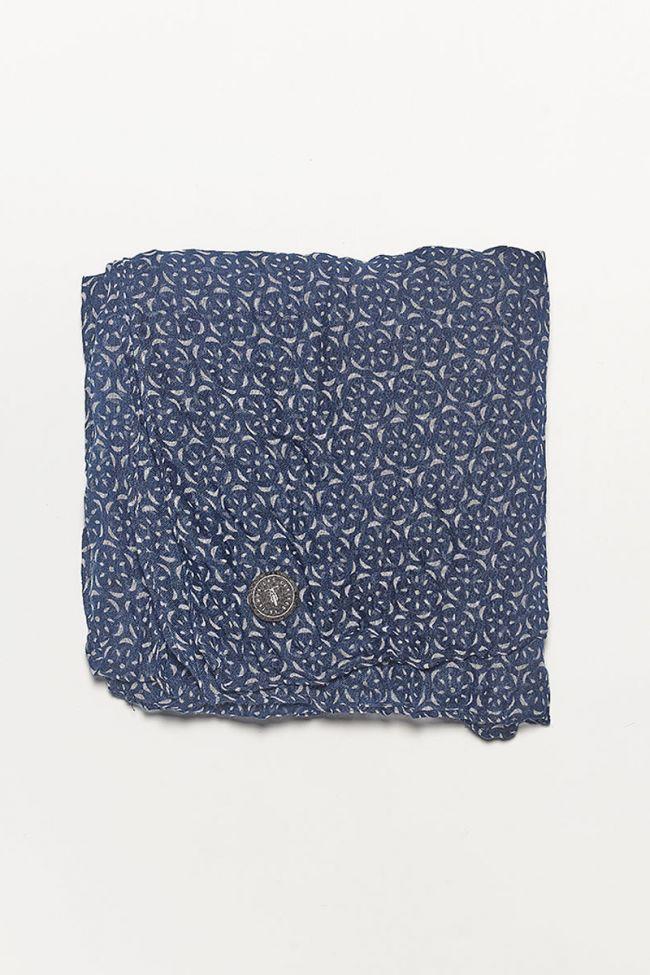 Riviera navy blue scarf