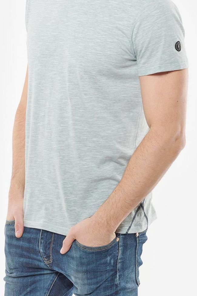 T-Shirt Salt gris vert
