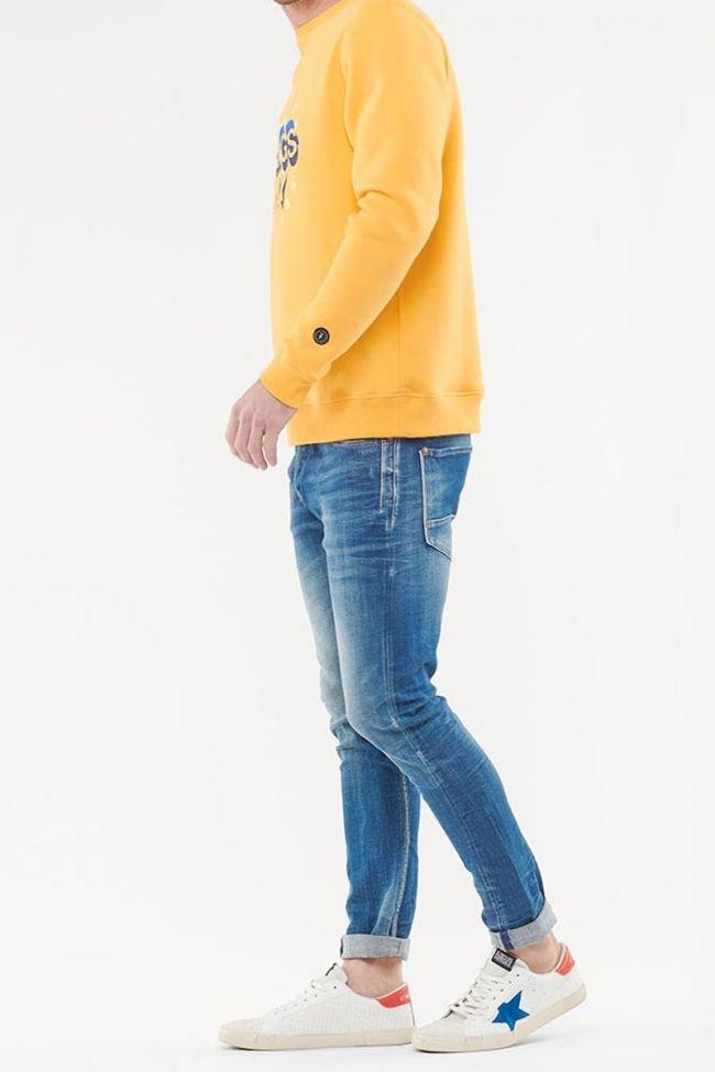 Santa yellow sweatshirt