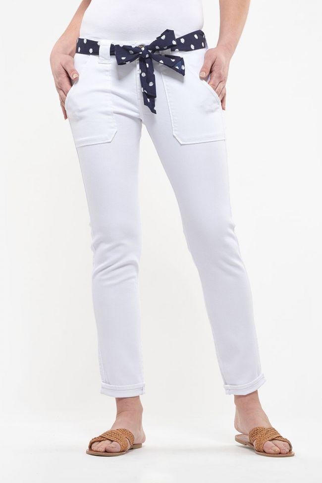 Jeans 200/43 boyfit Ezra blanc