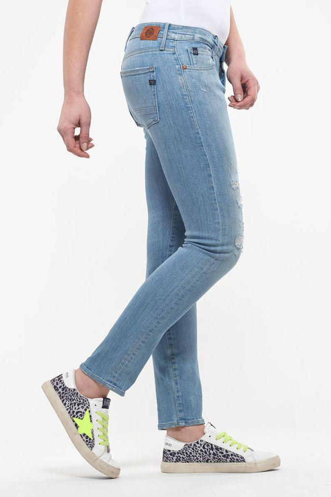 Jeans 200/43 boyfit Lea destroy bleu N°4