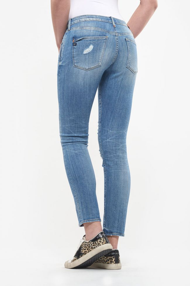 Jeans 200/43 boyfit Maple destroy bleu N°4