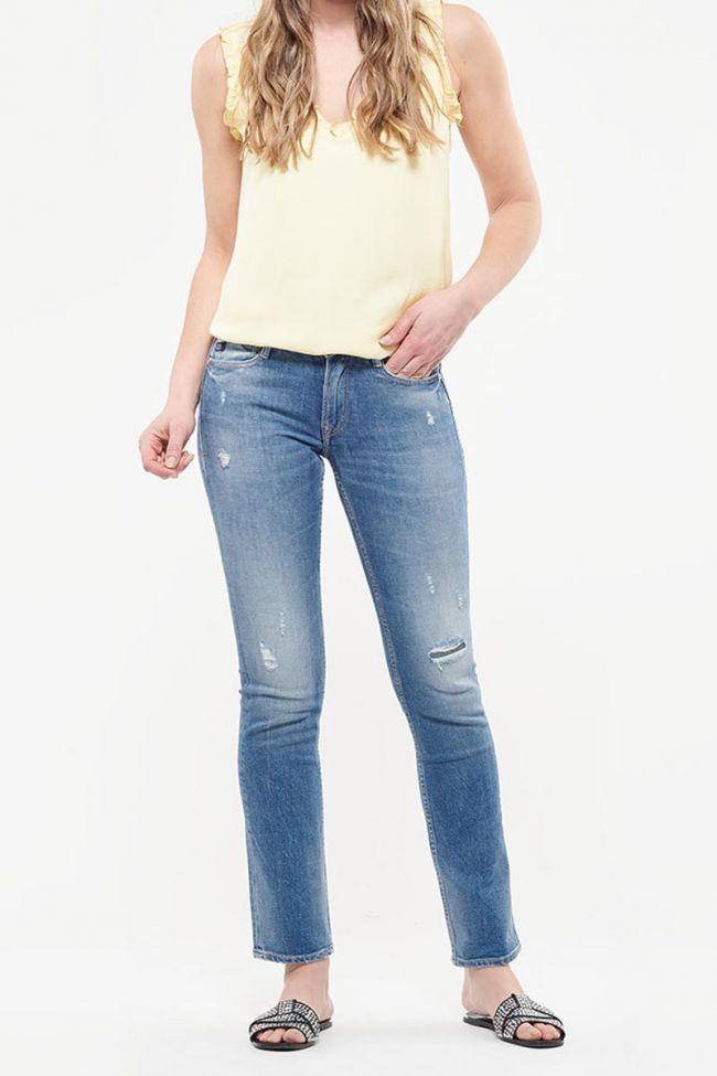 Jeans 300/02 regular Mel destroy bleu N°3