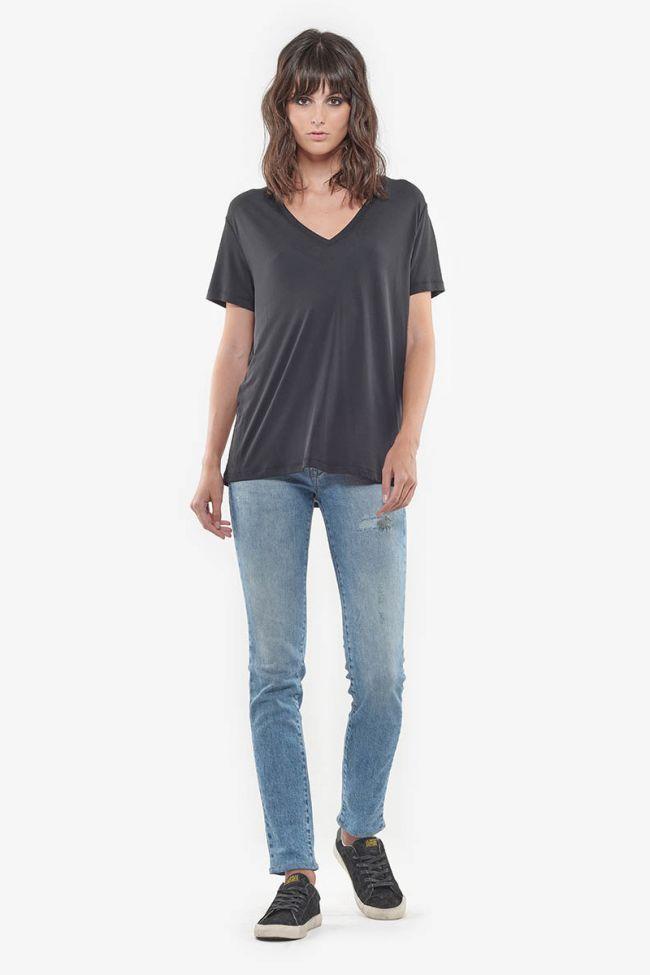 Basic stonewashed light blue jeans 300/16 N°5