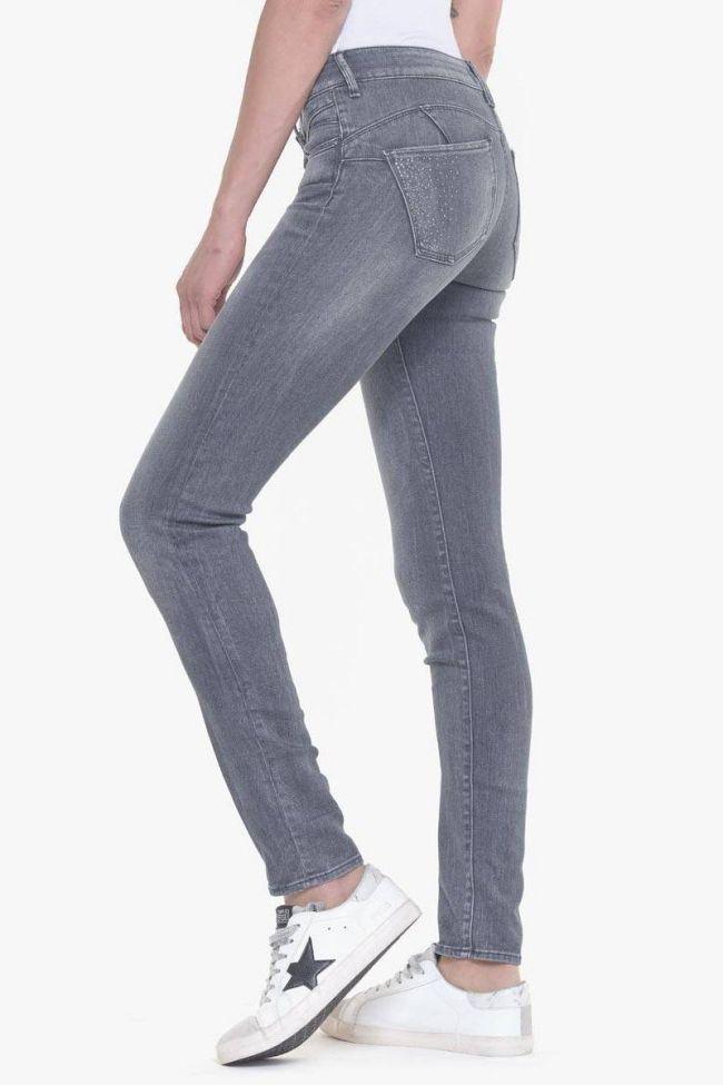 Aida pulp slim strass jeans gray N°3