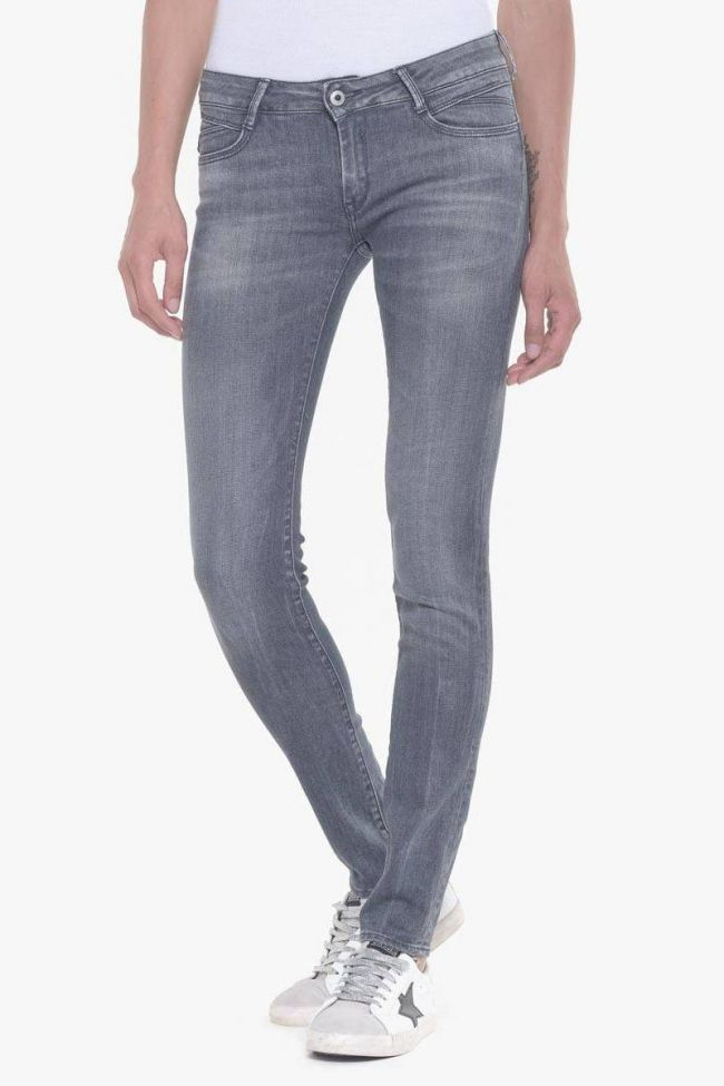 Aida pulp slim avec strass jeans gris N°3