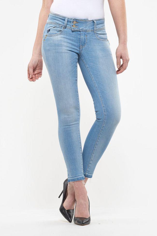 Jeans pulp slim 7/8ème Apia bleu N°5