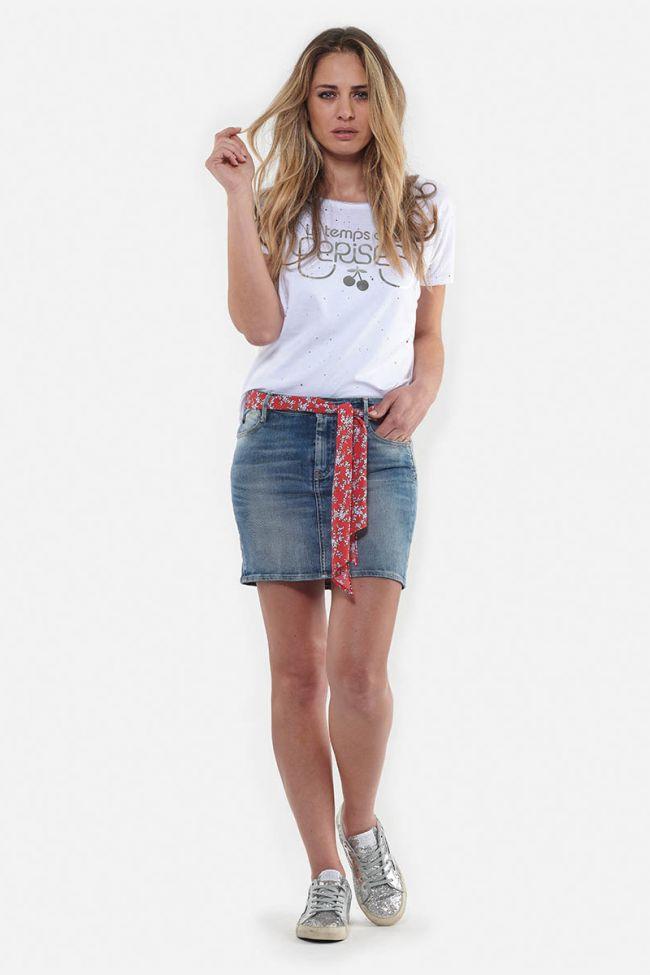 Baki blue jeans skirt