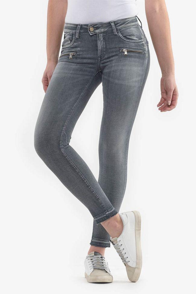 Calao pulp slim 7/8th jeans gray N°2