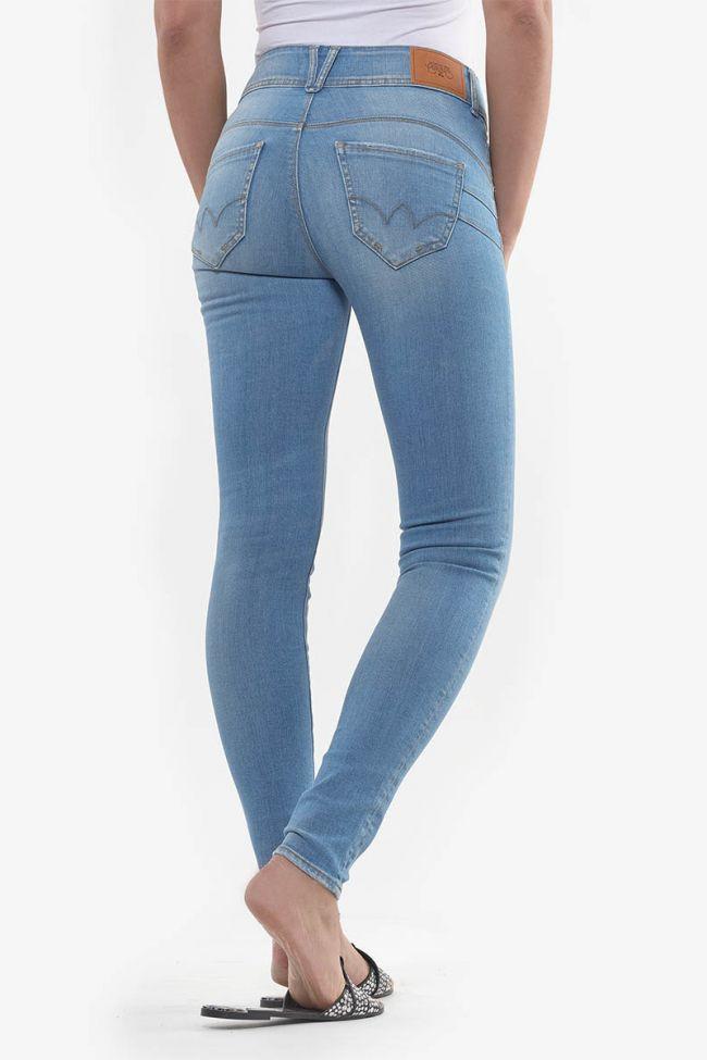 Celie pulp slim taille haute jeans bleu N°4