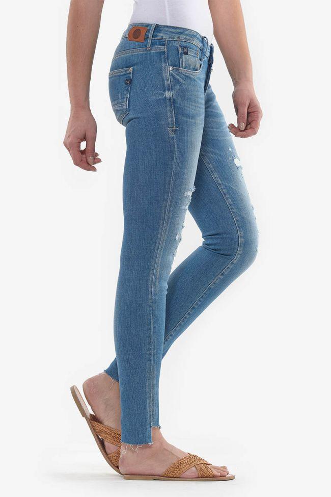 Evora power skinny 7/8th jeans blue N°3