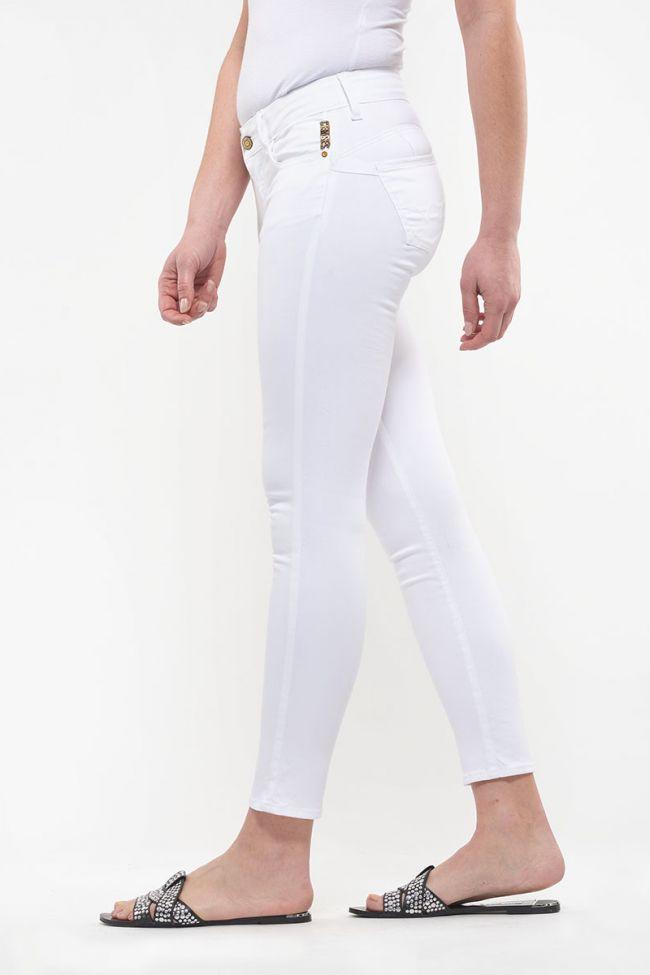 Jeans Pulp slim 7/8ème Hill blanc