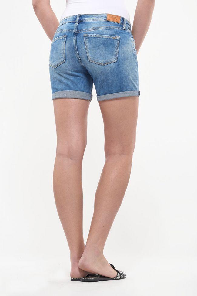 Short en jeans Janka bleu