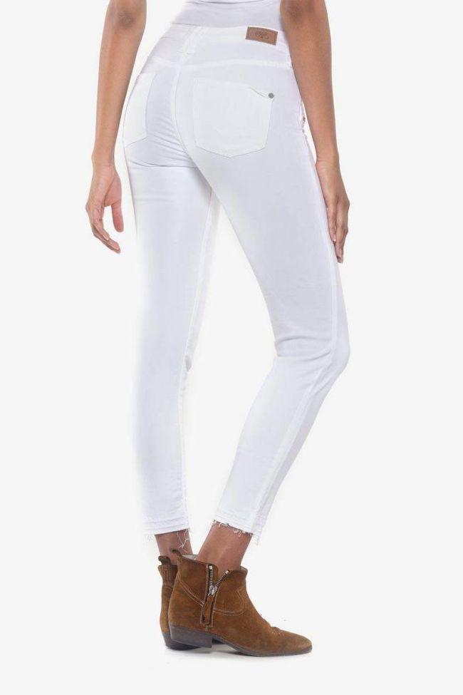 Kiev power skinny 7/8ème jeans blanc