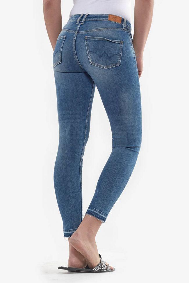 Jeans power skinny 7/8ème Kiev bleu N°4