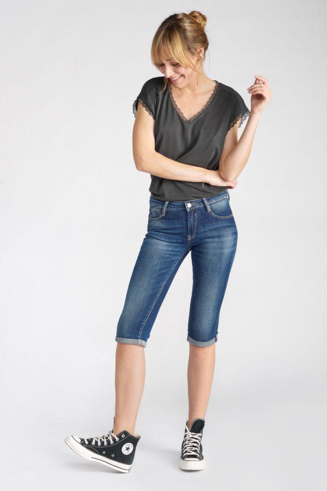Mandy blue capri pants