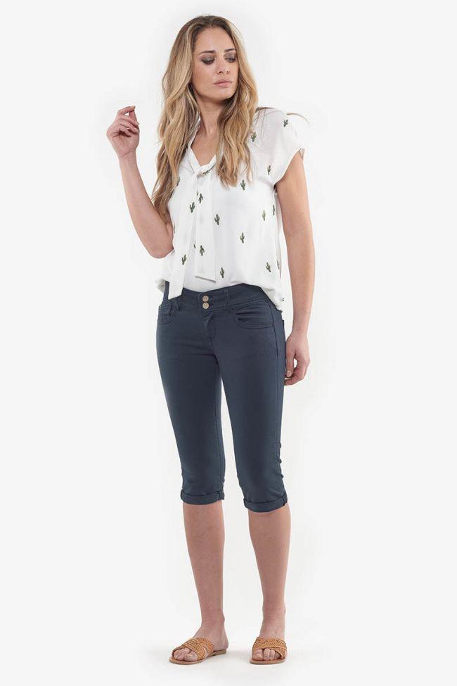Navy Mily jeans capri
