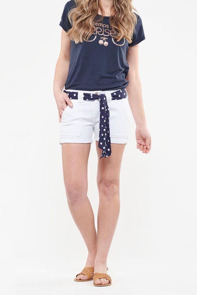 Short en jeans Olsen blanc