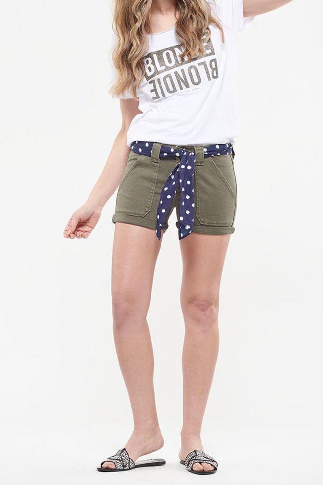 Khaki Olsen denim shorts
