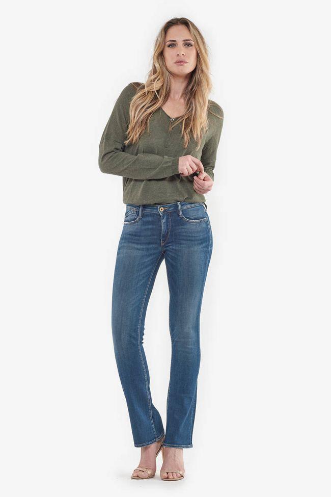 Power bootcut jeans bleu N°2
