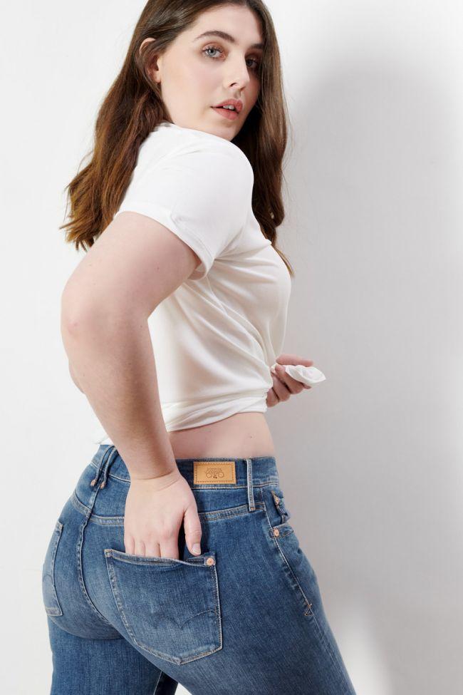 Power skinny high waist jeans blue  N°2