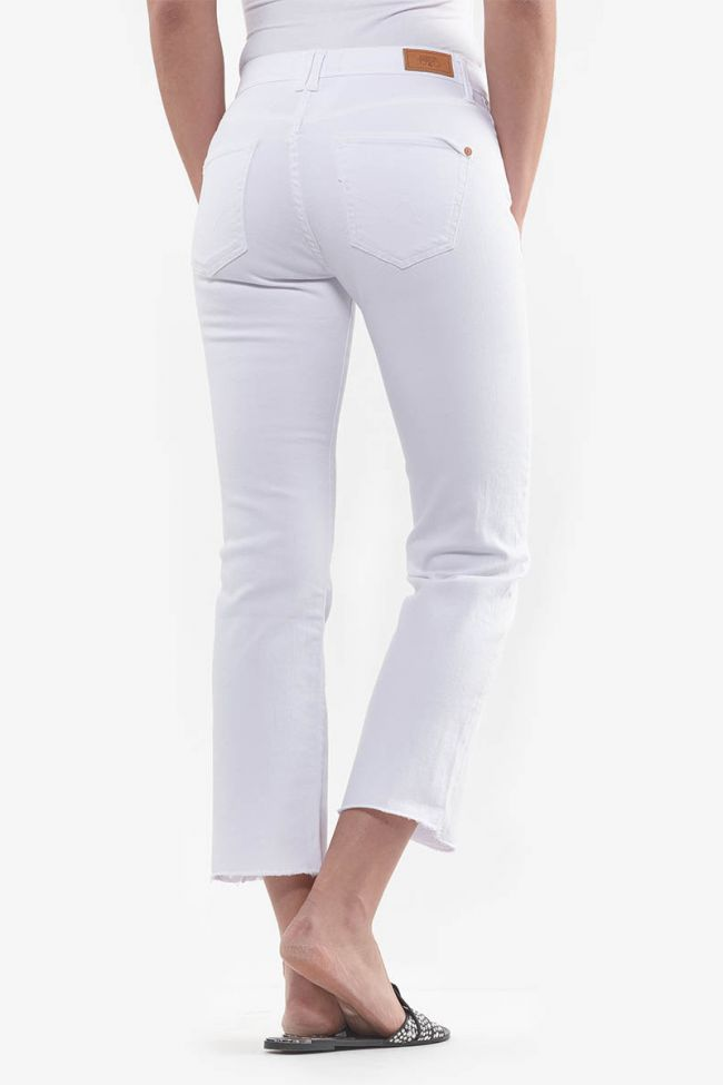 Jeans Precious regular blanc