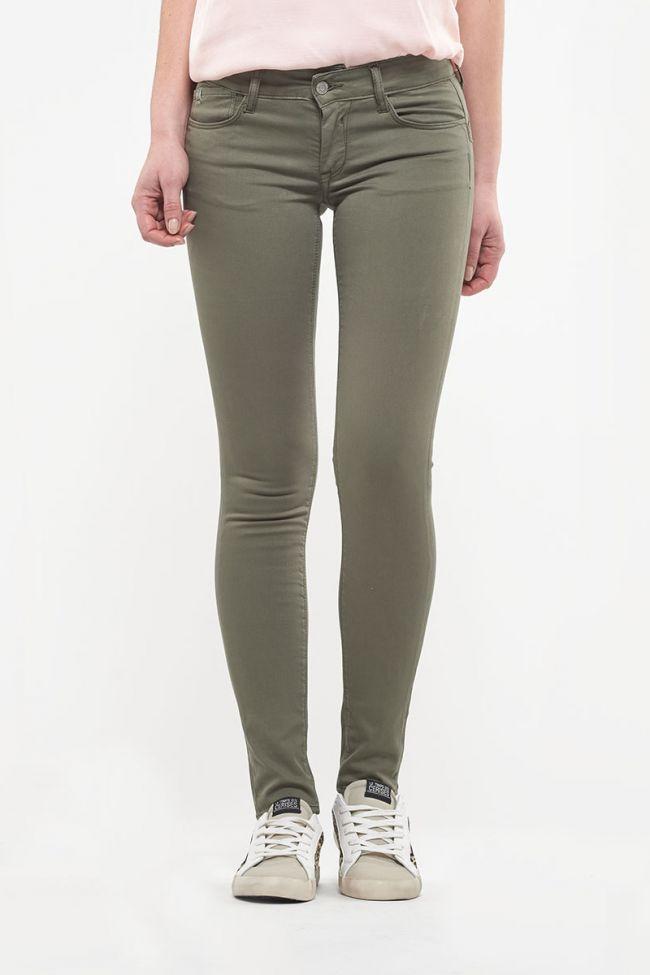 Khaki Pulp Skinny Jeans