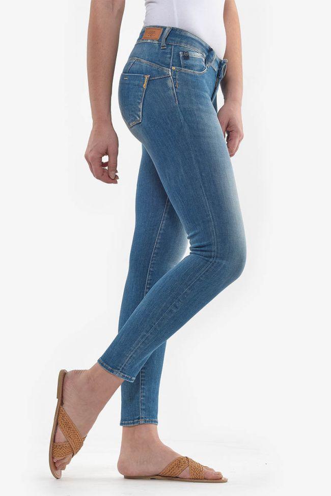 Pulp slim 7/8ème jeans bleu N°4