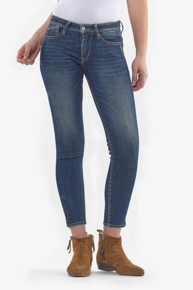 Jeans power skinny 7/8ème Tokyo bleu N°2