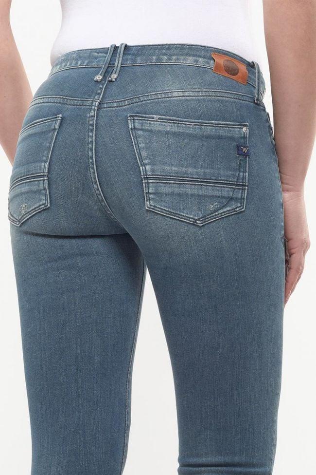 Zia Blue green Power 7/8th Skinny Jeans N°3
