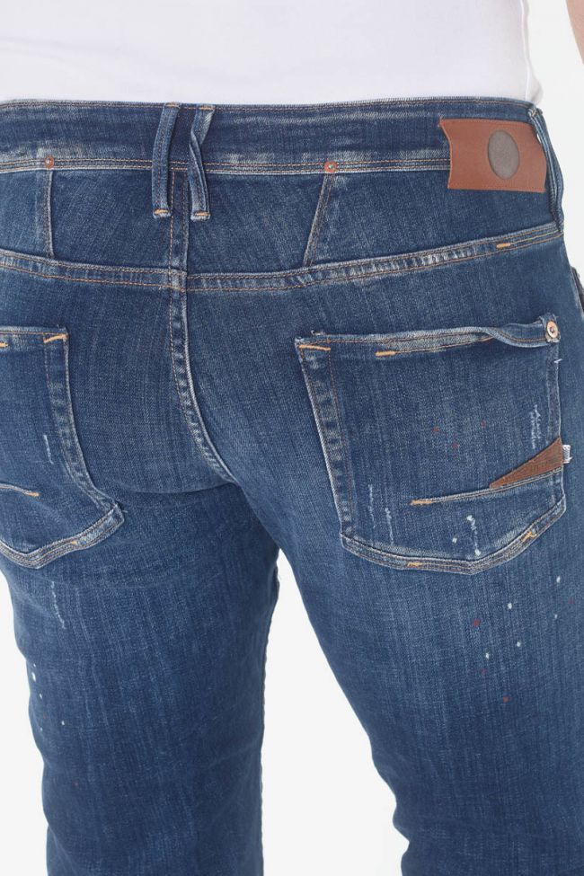 Aviso 600/17 adjusted jeans destroy blue N°2