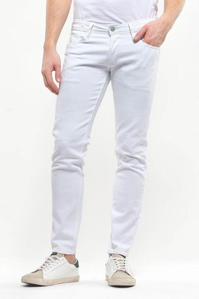 Jeans 700/11 slim Adam destroy blanc