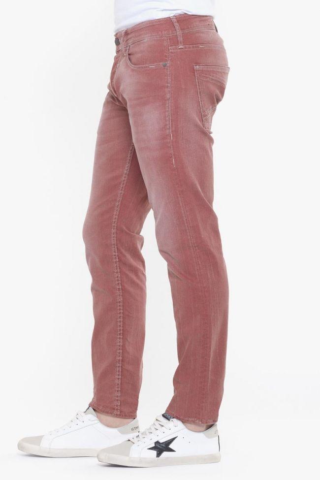 Jeans 700/11 slim stretch rouge délavé