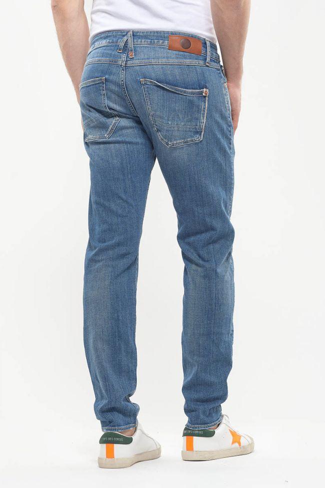Jeans 700/11 slim Bob destroy bleu N°4