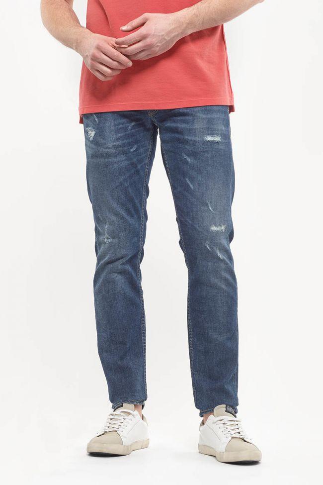 Jeans 700/11 slim Tchoia destroy bleu N°2