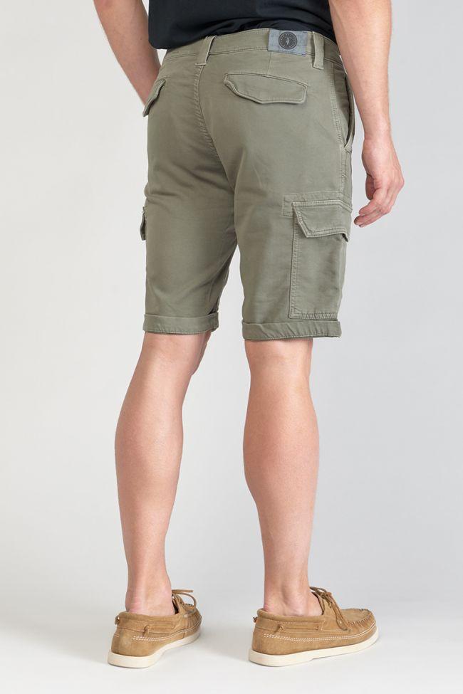 Khaki Jogg Damon shorts